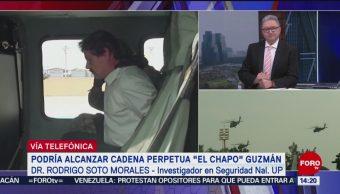 Foto: Juicio de El Chapo debe servir para aprender cómo opera el narco