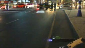 Foto: Liberan a hombre que atropelló a usuario de 'scooter' en CDMX 6 febrero 2019