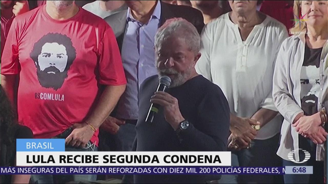 Lula da Silva recibe segunda condena por corrupción