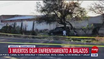 Foto: Maleantes se enfrentan en carretera Irapuato-Huanímaro