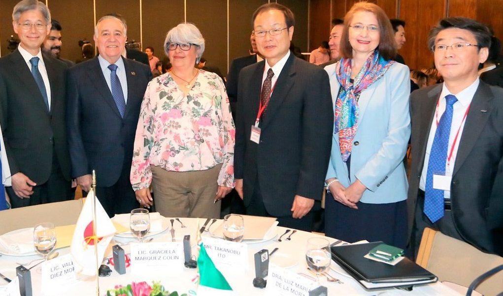 Foto: La secretaria de Economía, Graciela Márquez, asistió al Diálogo Económico México-Japón en la capital del país, febrero 11 de 2019 (Twitter: @SE_mx)