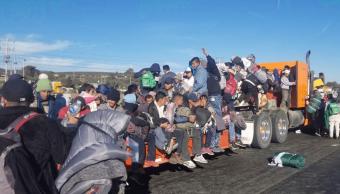 FOTO Migrantes centroamericanos se concentran en Ciudad Júarez chihuahua 19 febrero 2019