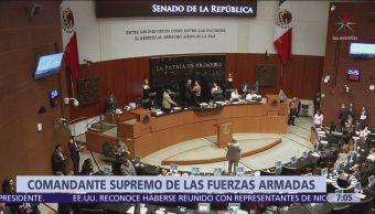Morena quiere aclarar que AMLO será jefe de Fuerzas Armadas