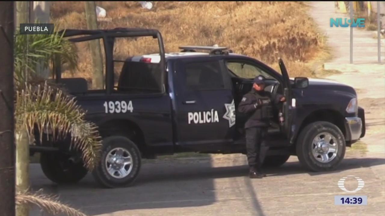Foto: Operativos contra robo de gas en Puebla