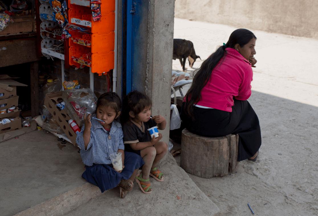 Foto: Gente en extrema pobreza en México, 11 de febrero de 2014, Guerrero, México