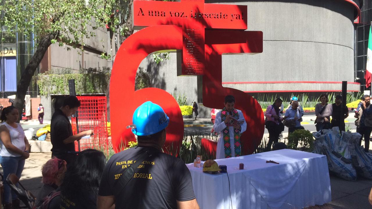 Foto: Recuerdan en CDMX a mineros fallecidos en Pasta de Conchos 19 febrero 2019