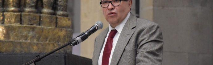 Foto: Ricardo Monreal, presidente de la Junta de Coordinación Política del Senado, enero 2019. Twitter @CitlaHM