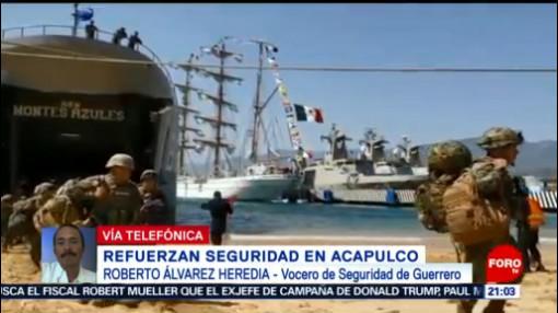 FOTO: Semar despliega operativo de seguridad en el puerto de Acapulco, 16 febrero 2019