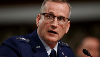 Foto: Terrence O'Shaughnessy, general de Estados Unidos, 17 de abril de 2018, Washington, Estados Unidos