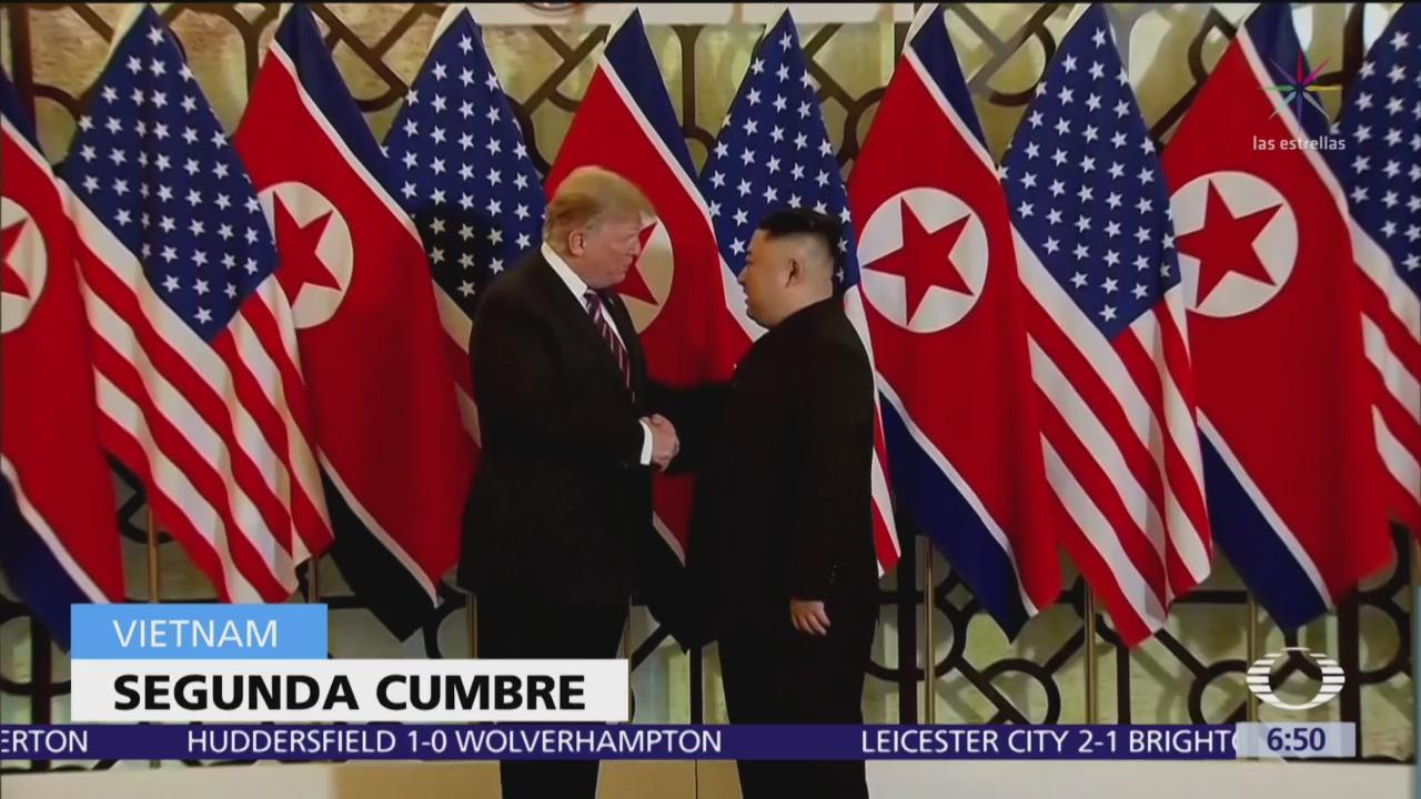 Trump y Kim están en Vietnam listos para segunda cumbre