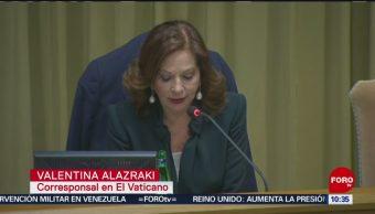 Valentina Alazraki participa en cumbre sobre abusos sexuales