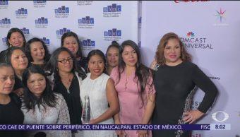 Yalitza Aparicio es homenajeada en Beverly Hills, California