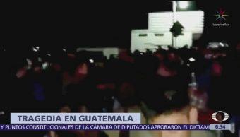 Accidente de tránsito en Sololá, Guatemala, deja 18 muertos