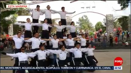 FOTO: 'Alas de acero' se presenta en la 'Expo tu Escuela' en CDMX, 10 marzo 2019