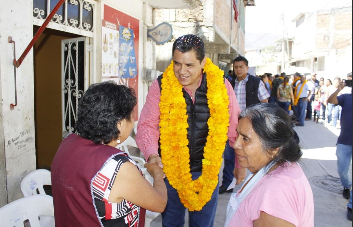 Foto: Antonio Gaspar Beltrán,, alcalde de Chilpancingo, 25 de febrero 2019. (Twitter @antoniogaspar42)
