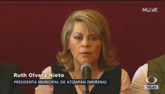 Foto: Alcaldesa de Atizapán denuncia amenazas