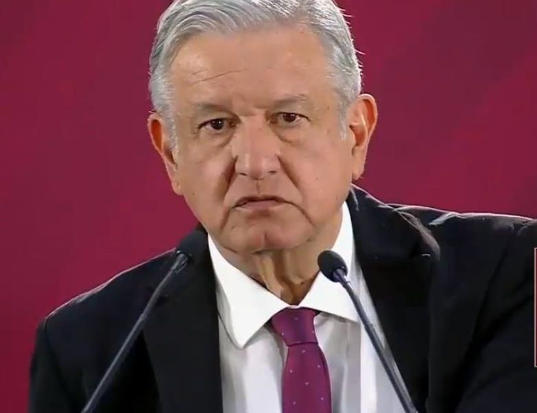 Foto:El presidente de México, Andrés Manuel López Obrador, 7 abril 2019
