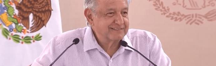 FOTO AMLO lanza 'Programas Integrales de Bienestar' en Colima (YouTube 5 marzo 2019)