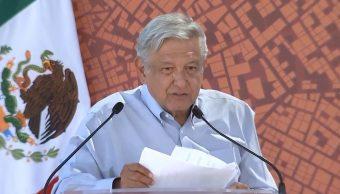 Foto: López Obrador destacó que no dará concesiones mineras que pongan en riesgo el medio ambiente, el 3 de marzo de 2019. (Gobierno de México YouTube)
