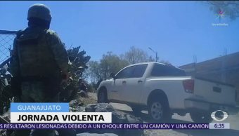 Asesinan a 21 personas en las últimas 24 horas en Irapuato