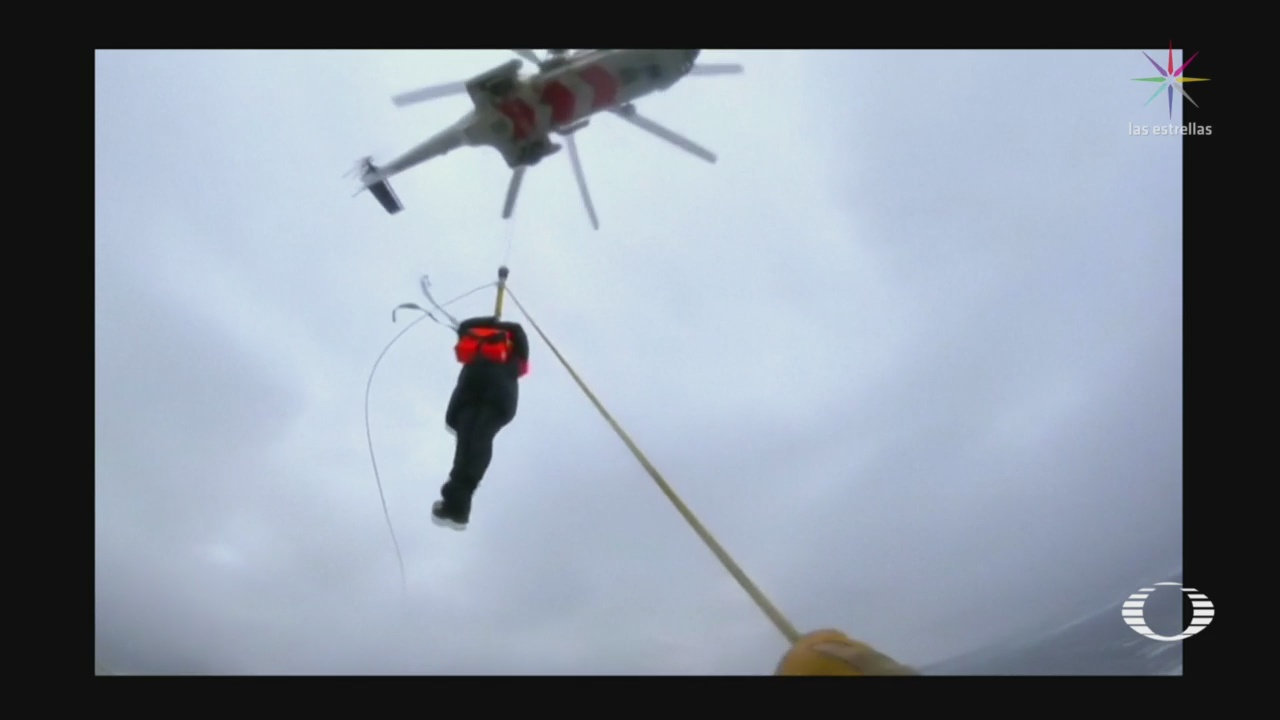 Foto: Rescate Crucero Viking Sky Video 25 de Marzo 2019