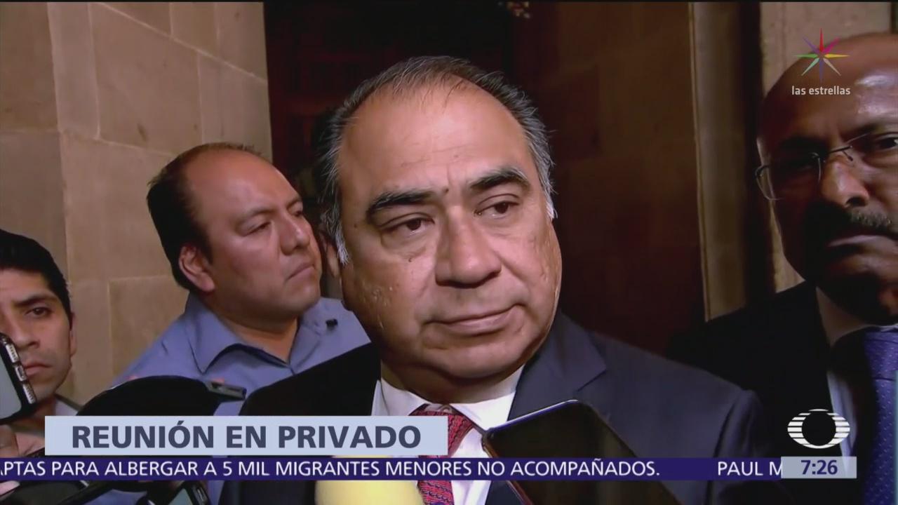 Foto: Astudillo Acompañaré al presidente en actos públicos