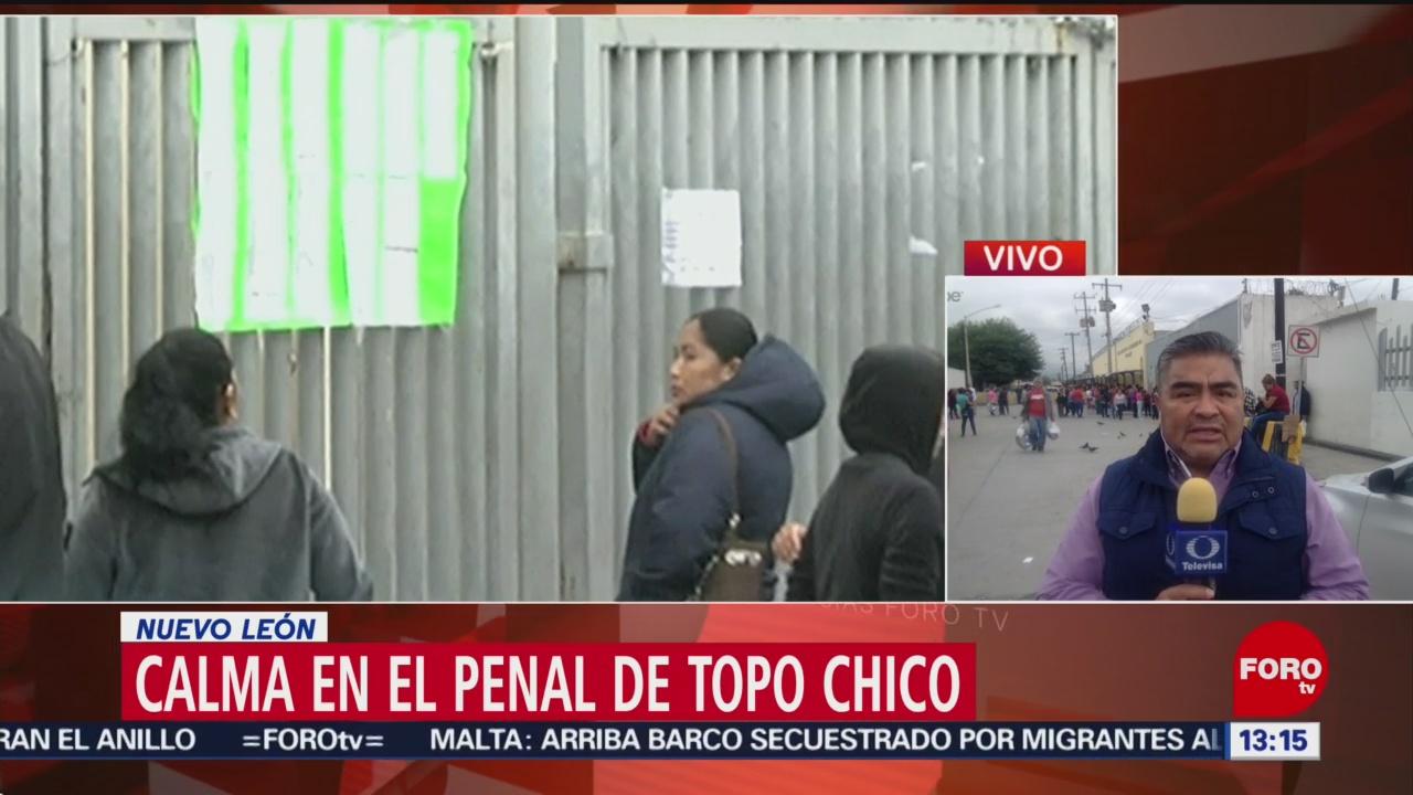 Foto: Calma en penal de Topo Chico, Nuevo León, tras disturbios