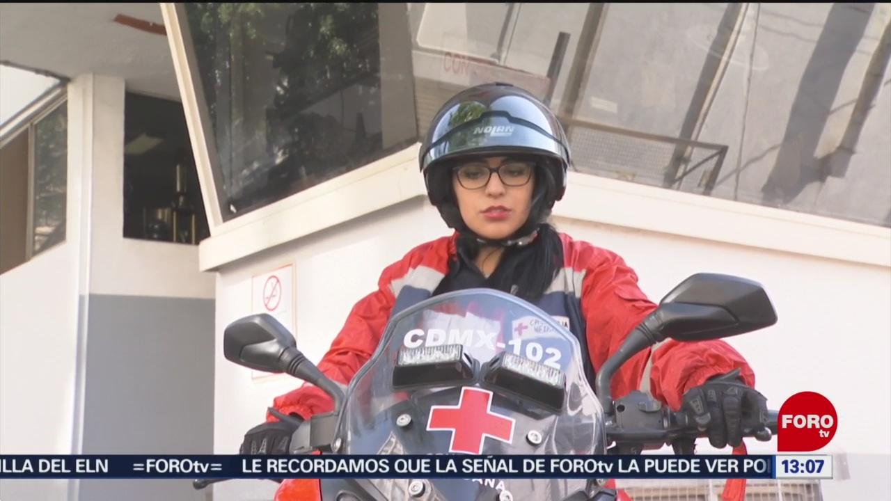 Foto: Cambian ambulancias por motocicletas