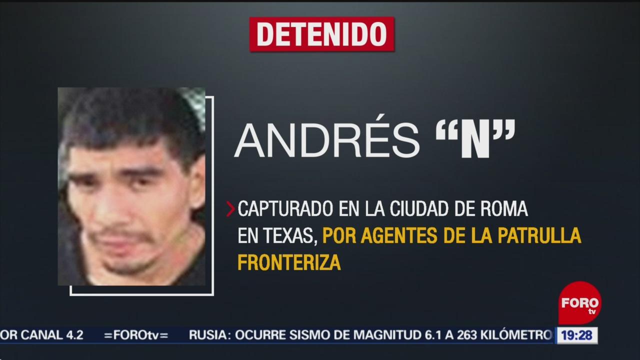 Foto: Capturan Detienen El Pause Tamaulipas EEUU 28 de Marzo 2019