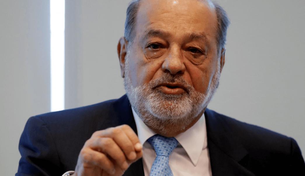 Foto: El empresario mexicano Carlos Slim, 27 de enero de 2017, Ciudad de México