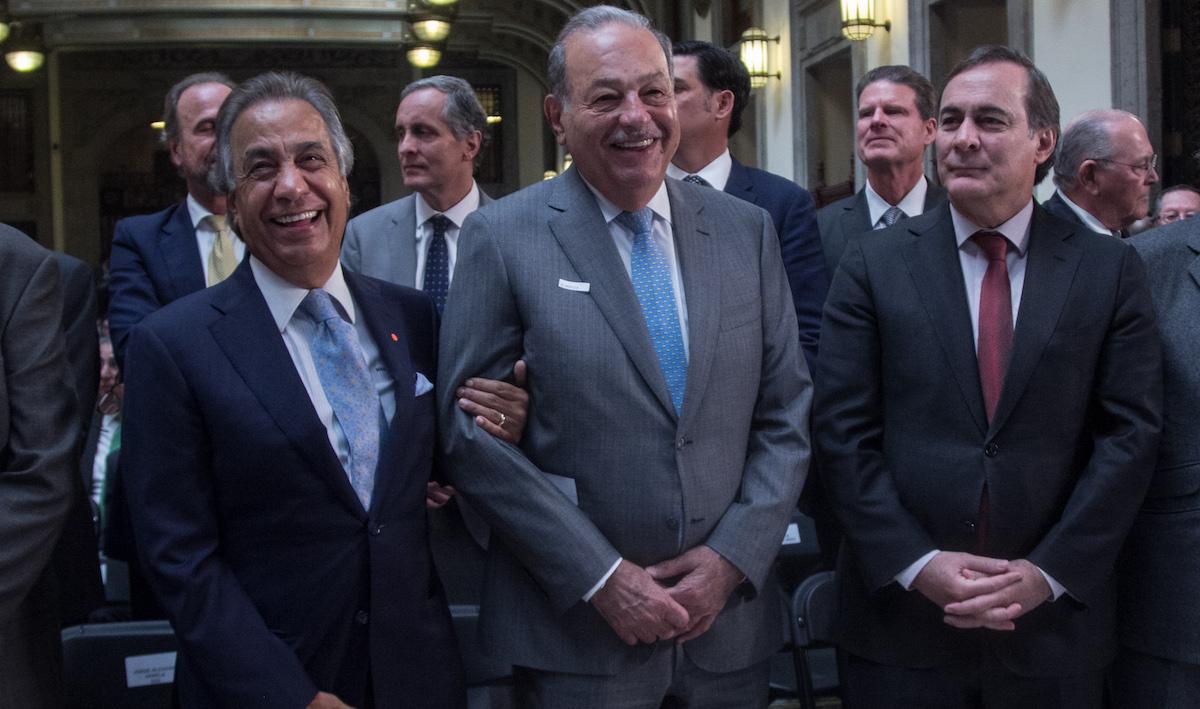 Foto Carlos Slim 5 Marzo 2019