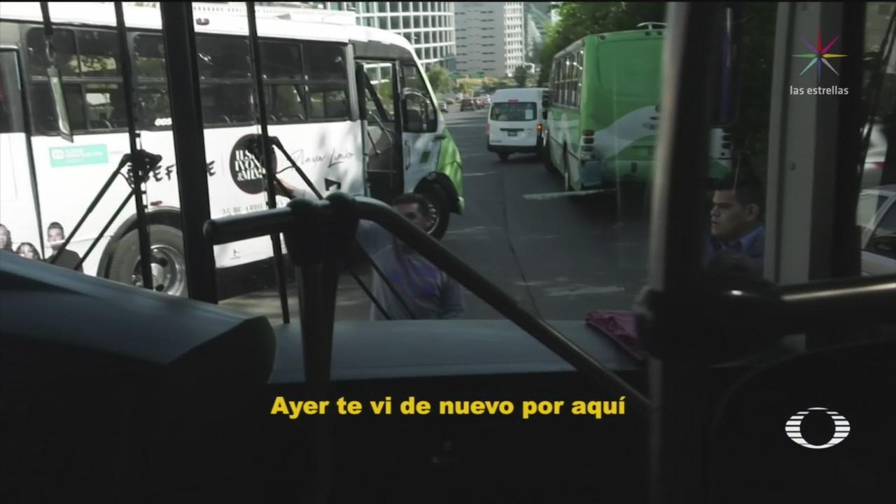 Foto: Choferes Transporte Concesionado Agreden Conductores Transporte Privado 22 de Marzo 2019