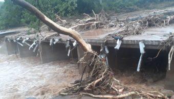 Foto: Mozambique, Zimbabue y Malawi recibieron el impacto de un poderoso ciclón que ha dejado a más de 140 muertos, marzo 16 de 2019 (Twitter: @InfoMinZW)