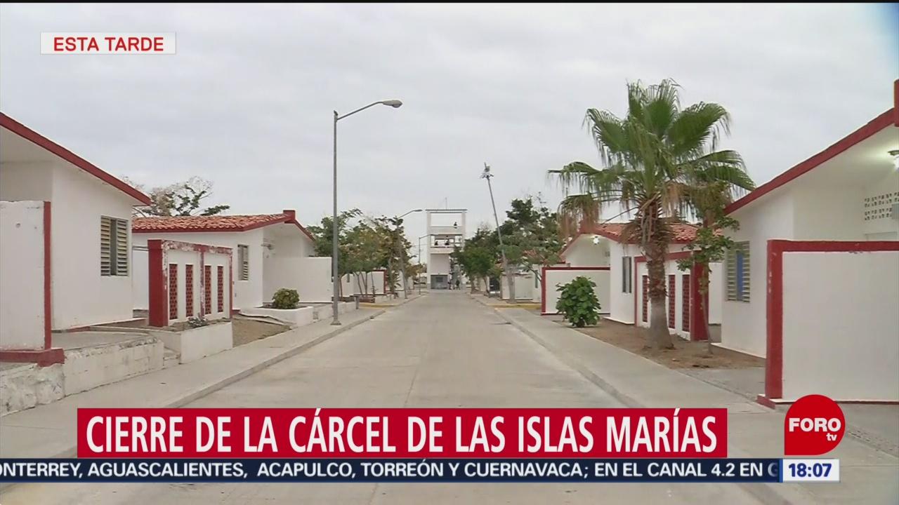 FOTO: Cierran la cárcel de las Islas Marías, 17 marzo 2019