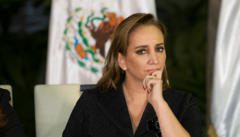 Foto: Claudia Ruiz Massieu, dirigente nacional del PRI, 21 de noviembre de 2016, Guatemala