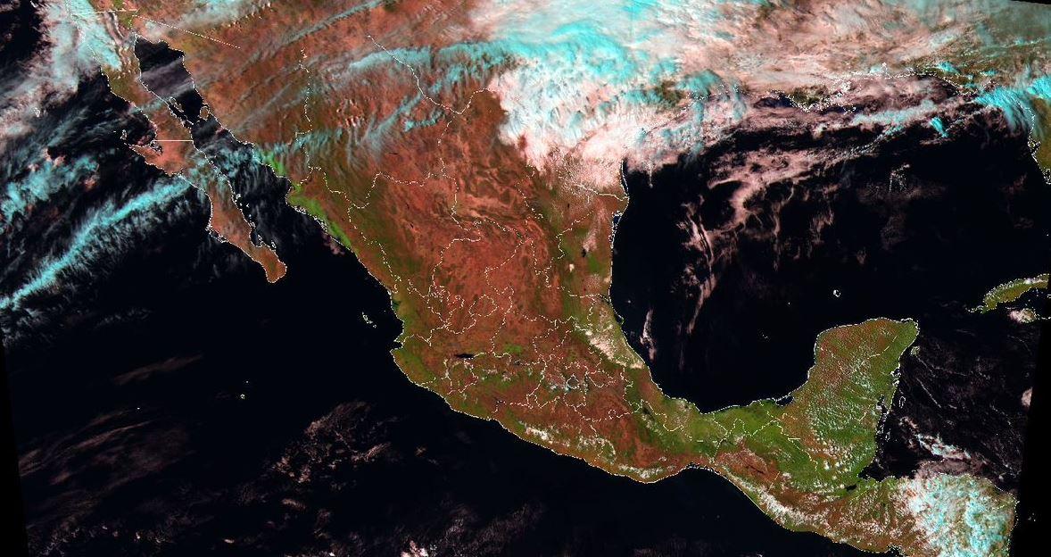 Foto: Para mañana, se estiman vientos con rachas superiores a 50 km/h y posible formación de tolvaneras o torbellinos en Coahuila, Nuevo León y Tamaulipas, el 2 de marzo de 2019 (Twitter @conagua_clima)