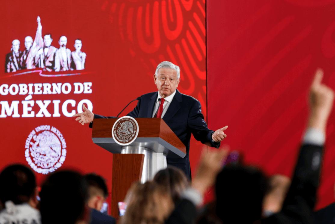 Foto: López Obrador en conferencia de prensa, 20 de marzo de 2019, México