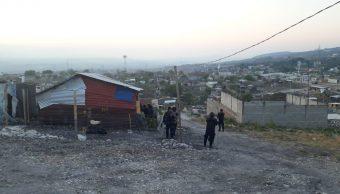 Foto: Desalojo de predio en Tuxtla Gutiérrez, Chiapas 28 marzo 2019