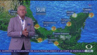 Foto: Despierta con Tiempo: Prevén temperaturas cálidas en gran parte de México