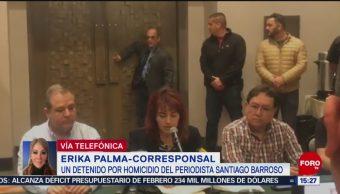 Foto: Detienen a homicida del periodista Santiago Barroso