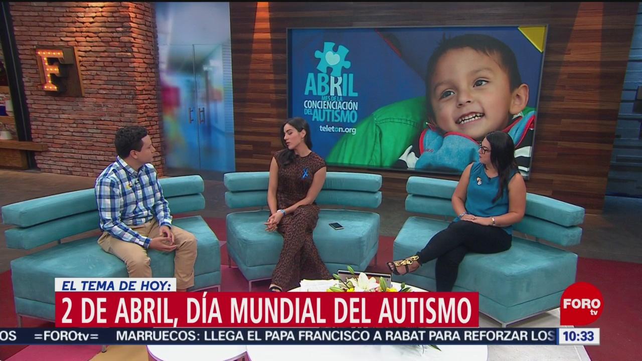 FOTO: Día Mundial del Autismo, 2 de abril, 30 Marzo 2019
