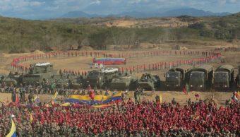 Foto: La Fuerza Armada de Venezuela realiza este fin de semana ejercicios cívicos-militares para proteger los servicios estratégicos de la nación, 16 marzo 2019