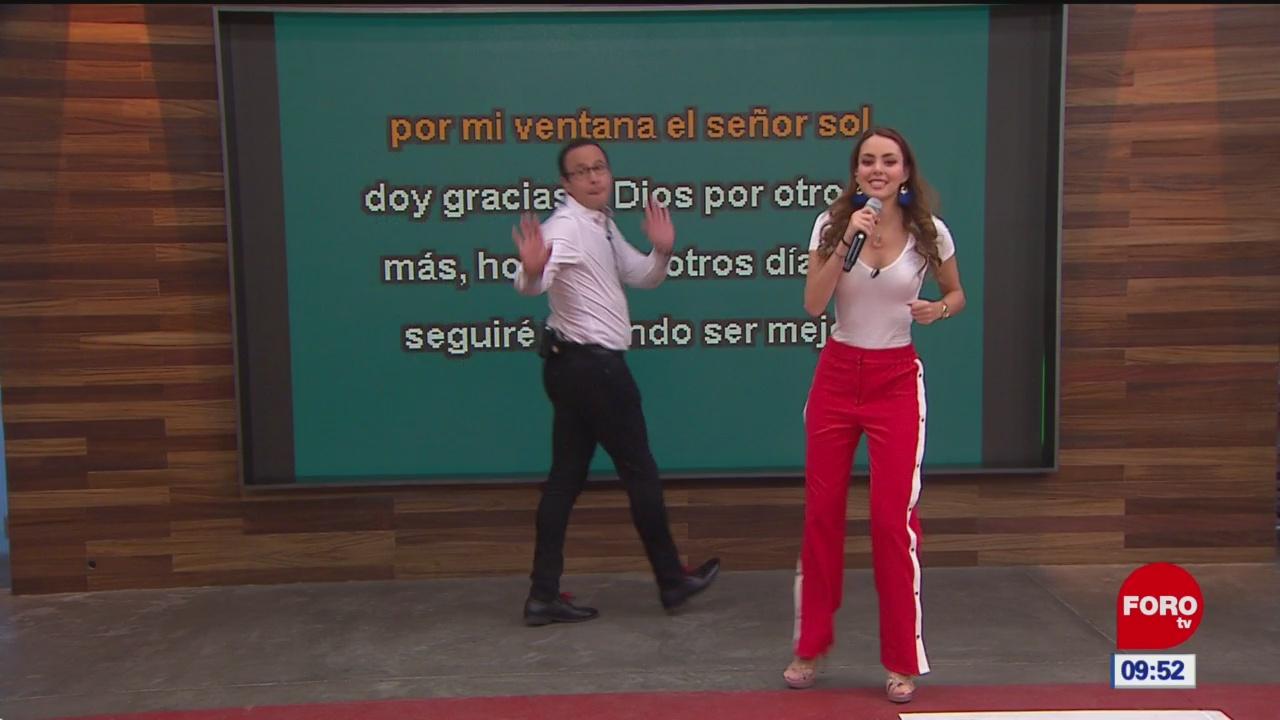 El karaoke de Expreso de la mañana