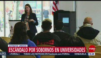 Foto: Escándalos por sobornos en universidades de EEUU