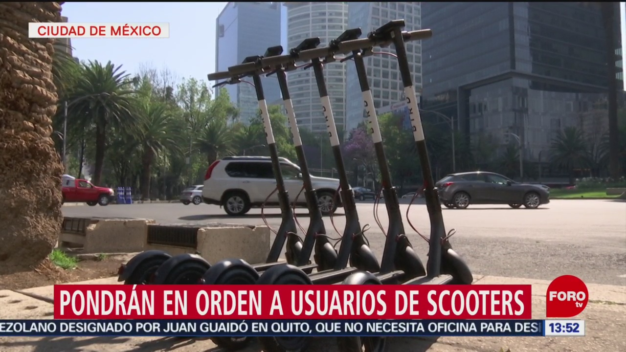Foto: Establecerán lineamientos para uso de scooters