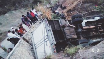 FOTO: Fiscalía de Chiapas ajusta a 23 cifra de migrantes muertos por accidente, 8 marzo 2019