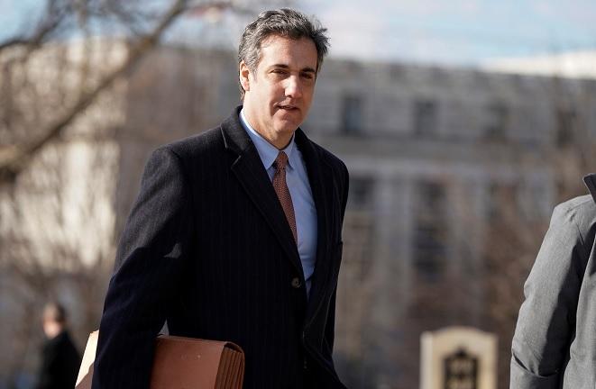Foto: Michael Cohen, exabogado del presidente de Estados Unidos, Donald Trump, llega a testificar ante el Comité de Inteligencia de la Cámara de Representantes, el 6 de marzo de 2019