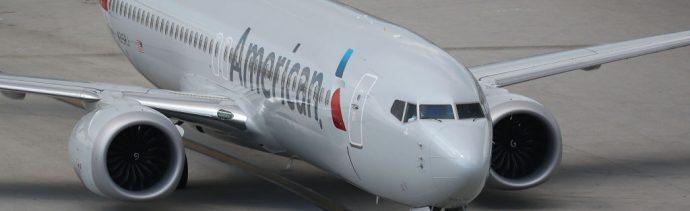 Foto: Un Boeing 737 Max 8 de American Airlines parado en el Aeropuerto Internacional de Miami, en Florida, EEUU, el 12 de marzo de 2019