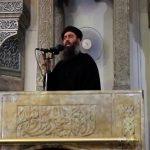 Foto: Captura de pantalla de un video del líder del Estado Islámico Abu Bakr al Baghdadi, hablando en una mezquita en Mosul, Irak. El 5 de julio de 2014