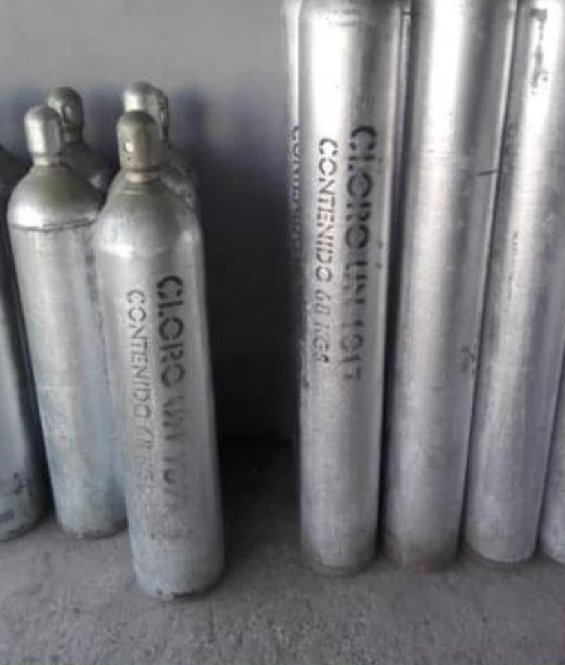 alerta en siete estados por robo de cilindro con gas cloro